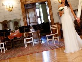 Vamp mados namų vestuvinė suknelė