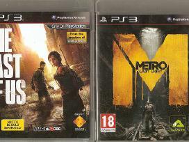 PS3 originalūs žaidimai 2011-15 m. nuo 6€, priedai - nuotraukos Nr. 2