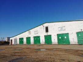 Gamybinių patalpų kompleksas su nauju gręžiniu