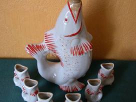Porceliano zuveliu komplektas.idealaus stovio - nuotraukos Nr. 3