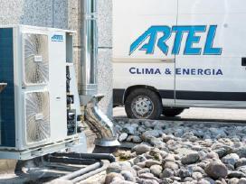 Artel - itališki šilumos siurbliai oras-vanduo