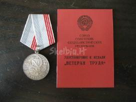 CCP medalis su dokumentu. zr. foto. - nuotraukos Nr. 3