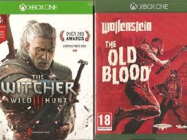 Xbox One originalūs žaidimai ir priedai