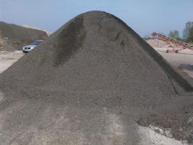 Žvyras,smelis,skalda,betonas nedideliais kiekiais