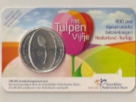 Olandija 2012 5 Eurai Tulpes