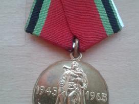 Medalis 20 metu pergales