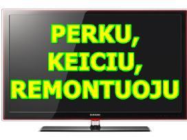 Perku ivairius televizorius, monitorius