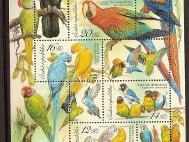"Parduodu Čekijos pašto ženklus tema ""fauna"""