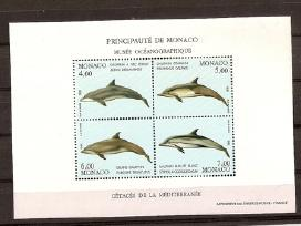 """Parduodu Monako pašto ženklus tema """" Juros fauna"""""""