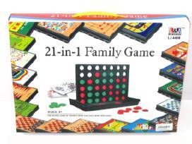 Stalo žaidimų rinkinys 21 in 1 - 13€