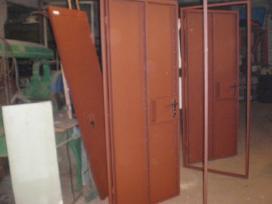 Parduodame metalines duris rūsio sandėliukams - nuotraukos Nr. 3