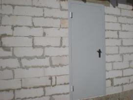 Parduodame metalines duris rūsio sandėliukams - nuotraukos Nr. 5