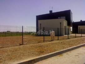 Tvoros, vartai segmentinės, tinklinės medinės - nuotraukos Nr. 7
