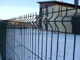 Tvoros, vartai segmentinės, tinklinės medinės - nuotraukos Nr. 8