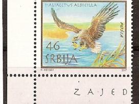 """Parduodu Serbijos pašto ženklus tema """"fauna """""""