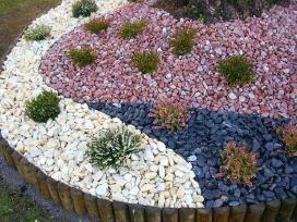 Akmens skalda kiemo dekoravimui, kapų tvarkymui