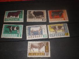 """Parduodu Urugvajaus pašto ženklus tema """"fauna """" - nuotraukos Nr. 6"""