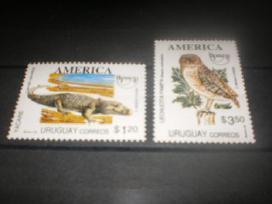 """Parduodu Urugvajaus pašto ženklus tema """"fauna """" - nuotraukos Nr. 8"""