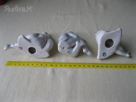 CCP Porceliano statuleles 3 vnt. 002