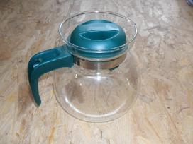 Parduodu stiklini arbatinuka. Kaina: 4eur