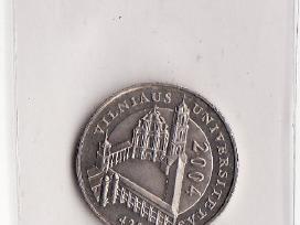1 Lt moneta Vilniaus Universitetui Unc ir kitos