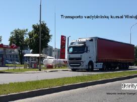 Transporto vadybininko kursai Ltsa egzaminui