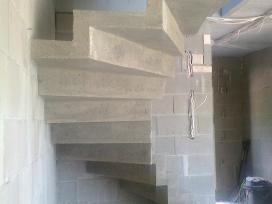 Betoniniu laiptu gamyba ir projektavimas