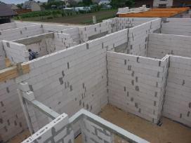 Namų statyba nuo 399 eur / 1m2 su medžiagomis