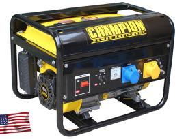 Elektros generatorius Champion Cpg3500 2800w nauja