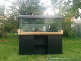 Nebrangūs akvariumai nuo 30 iki 240 litrų