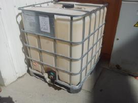 Konteineris 1000 litrų talpos