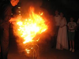 Gintaro dulkės šventei