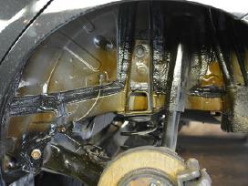 Automobiliu antikorozinis padengimas.variklio plov