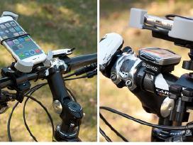 Telefono laikiklis motociklams, keturračiams