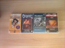 Įvairūs filmai vaizdo kasetėse