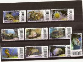 """Parduodu Graikijos pašto ženklus tema """"jūros Fauna"""
