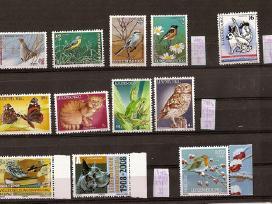 """Parduodu Liuksemburgo pašto ženklus tema """" Fauna"""":"""