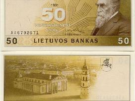 Perku 1991 Lietuviskus banknotus