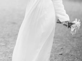 Dizainerės Kristinos Narbutaitės šilkinė suknelė!