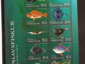 "Parduodu Farerų ženklus tema ""fauna"""