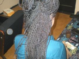 Plaukų priauginimas kasytėmis, plaukučių pluoštas