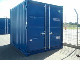 Nauji 10 ir 8 pedu sandėliavimo konteineriai.
