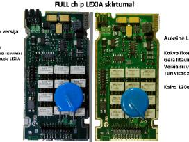 Lexia 3 Full chip V8.18citroen peugeot diagnostika - nuotraukos Nr. 2