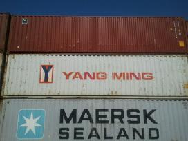 40dv jūriniai konteineriai.