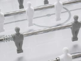 Garlando G-500 Pure White futbolo stalas