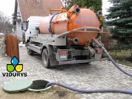 Nuotekų išvežimas, kanalizacijos valymas Vilniuje