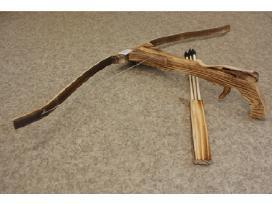 Bambukinis arbaletas vaikams 85 Cm.