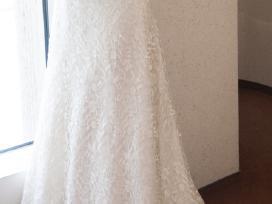 Daili prancūziška vestuvinė suknelė - nuotraukos Nr. 3