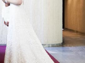 Daili prancūziška vestuvinė suknelė - nuotraukos Nr. 4