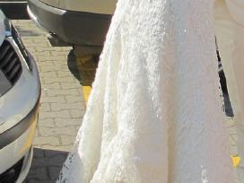 Daili prancūziška vestuvinė suknelė - nuotraukos Nr. 2